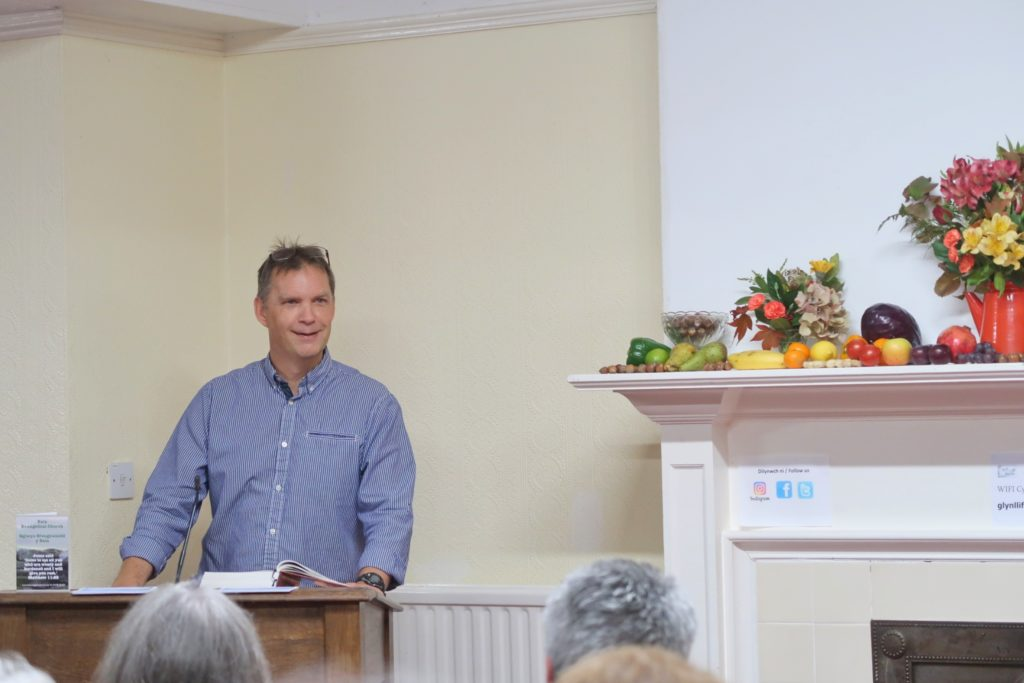 bala evangelical church harvest supper bryn y groes elder gwydion lewis